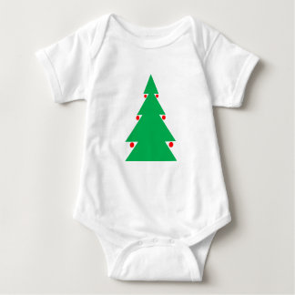 Christmas Tree Design 8.5 by 8.5 October 21 2017.g Baby Bodysuit
