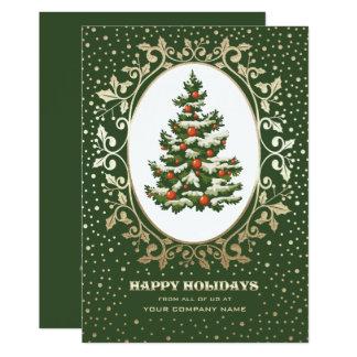 Christmas Tree design Corporate Christmas Cards