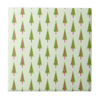 Christmas Tree Design Tile