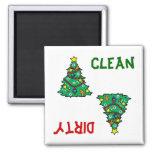 Christmas Tree Dishwasher Magnet