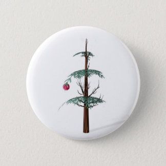 Christmas Tree Fail 2 Inch Round Button