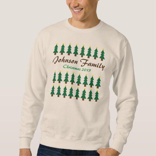Christmas Tree Family Ugly Sweatshirt
