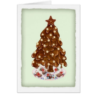 Christmas Tree for Dove Chocolate Discoveries Card