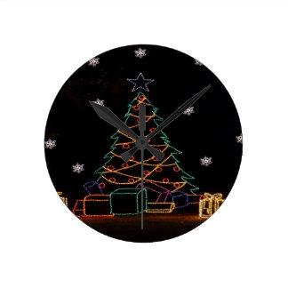 Christmas Tree Gifts ZZ 2016 Wall Clock