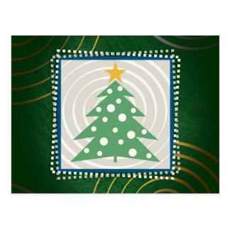 Christmas Tree (green) - Postcard