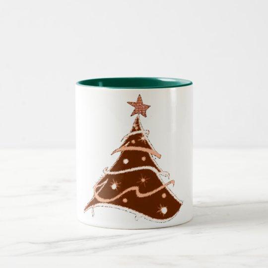 christmas tree holiday design mug design