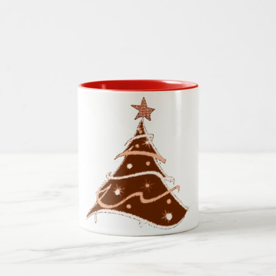 christmas tree holiday design mug design