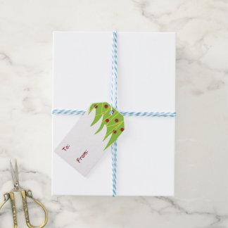 Christmas Tree Holiday Gift Tags