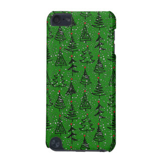 Christmas Tree Holiday Pattern iPod Touch 5G Case