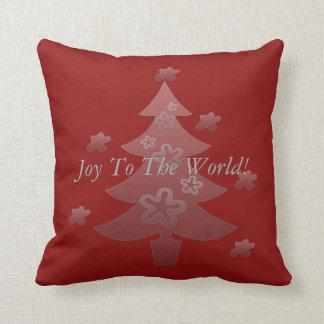 Christmas Tree  Holiday Season Gift Throw Pillow