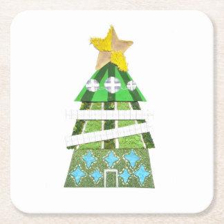 Christmas Tree Hotel Custom Coaster