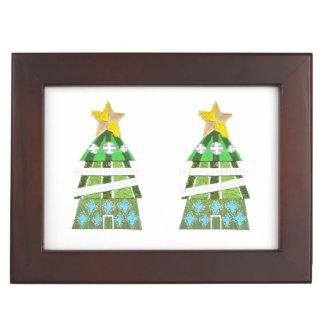 Christmas Tree Hotel Keepsake Box