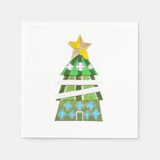 Christmas Tree Hotel Napkins Disposable Napkin