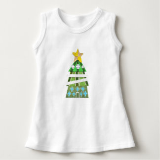 Christmas Tree Hotel No Background Baby Dress