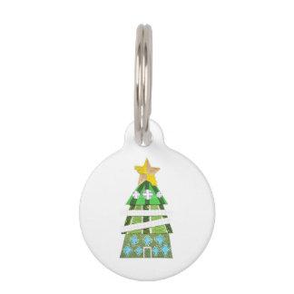 Christmas Tree Hotel Pet Tag