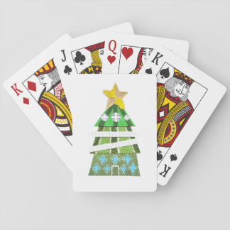 Christmas Tree Hotel Playing Cards