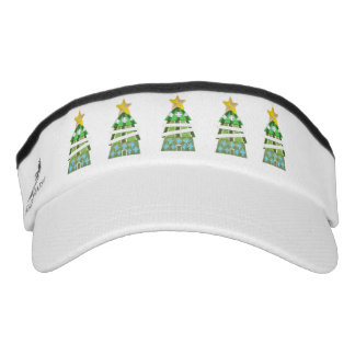 Christmas Tree Hotel Visor Hat