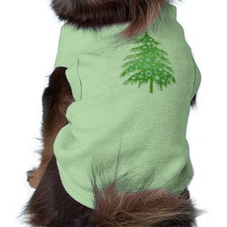 Christmas Tree Hugger Dog Shirt