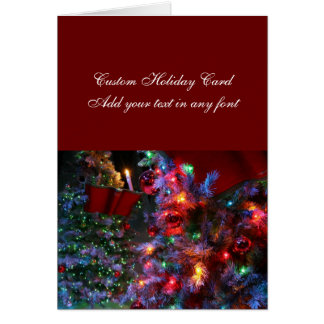 Christmas Tree in full color! Greeting Card