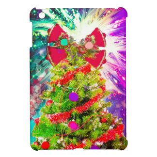 Christmas Tree in full colors iPad Mini Cover