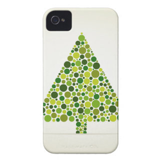 Christmas tree iPhone 4 Case-Mate cases