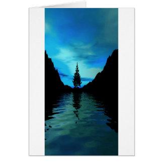 Christmas Tree Island 2 Card
