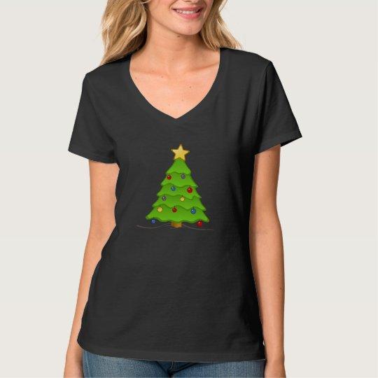 Christmas Tree Ladies Tee