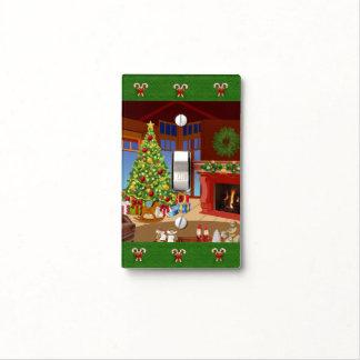 Christmas Tree Light Switch Cover for Home Decor