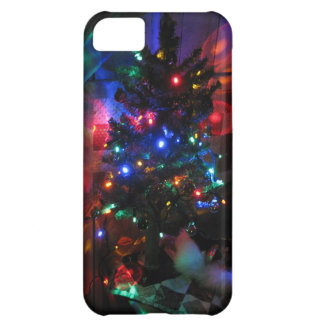 Christmas tree lights iPhone 5C case