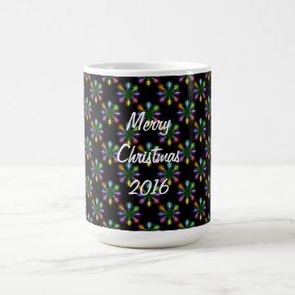 Christmas Tree Lights Pattern Coffee Mug