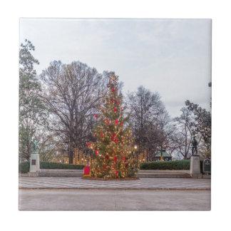 Christmas tree Linn park Tile