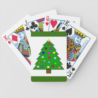 Christmas Tree (Merry Christmas) Bicycle Playing Cards