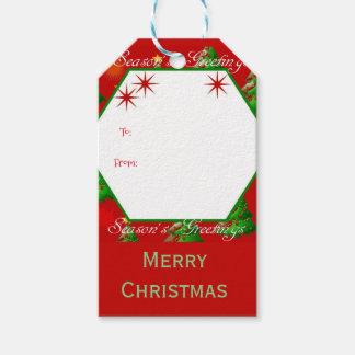 Christmas tree Merry Christmas Gift Tags