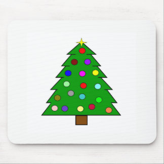 Christmas Tree (Merry Christmas) Mouse Pad