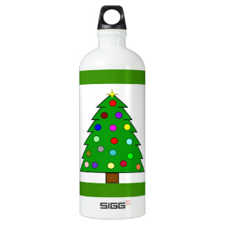 Christmas Tree (Merry Christmas) Water Bottle