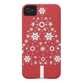 Christmas Tree Modern iPhone 4 Case-Mate Cases