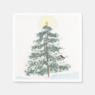 Christmas tree napkins paper napkin