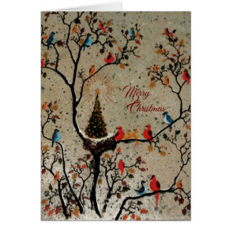 Christmas Tree Nest - (More Options) Cards
