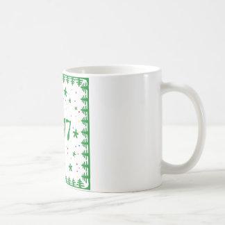 Christmas tree New year mug. Coffee Mug