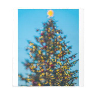 Christmas Tree Notepad