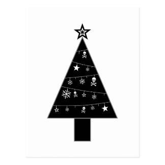 Christmas Tree of DOOM Holiday Postcard