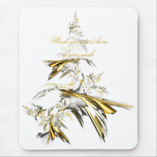 Christmas Tree on White 001 Mouse Pad