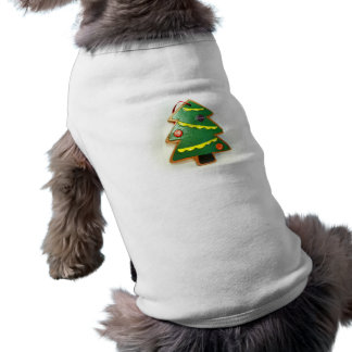Christmas Tree Ornament II Doggie Shirt