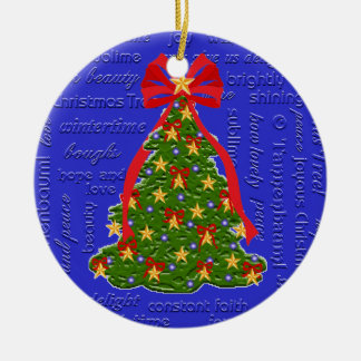 Christmas Tree Ornament O Tannenbaum Lyrics
