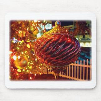 Christmas Tree Orniment Mouse Pad