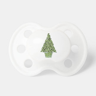 Christmas Tree Pacifier