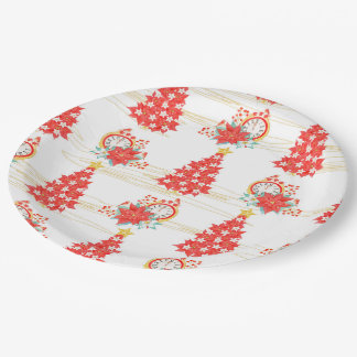 Christmas tree paper plate
