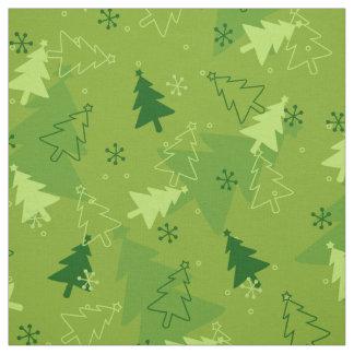 Christmas tree pattern Fabric