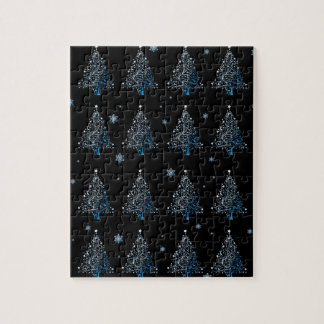 Christmas tree - pattern jigsaw puzzle