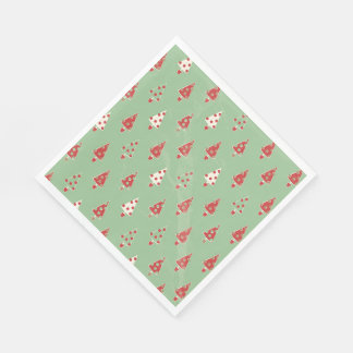 Christmas Tree Pattern Paper Napkin